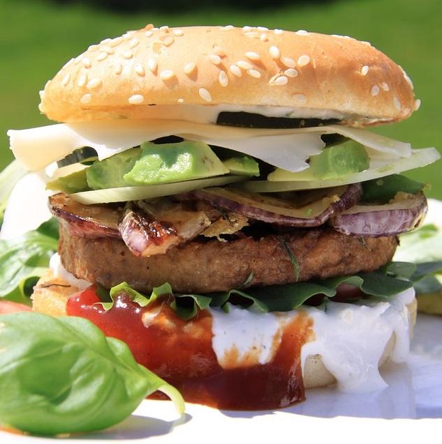 Veg Chowmin Burger