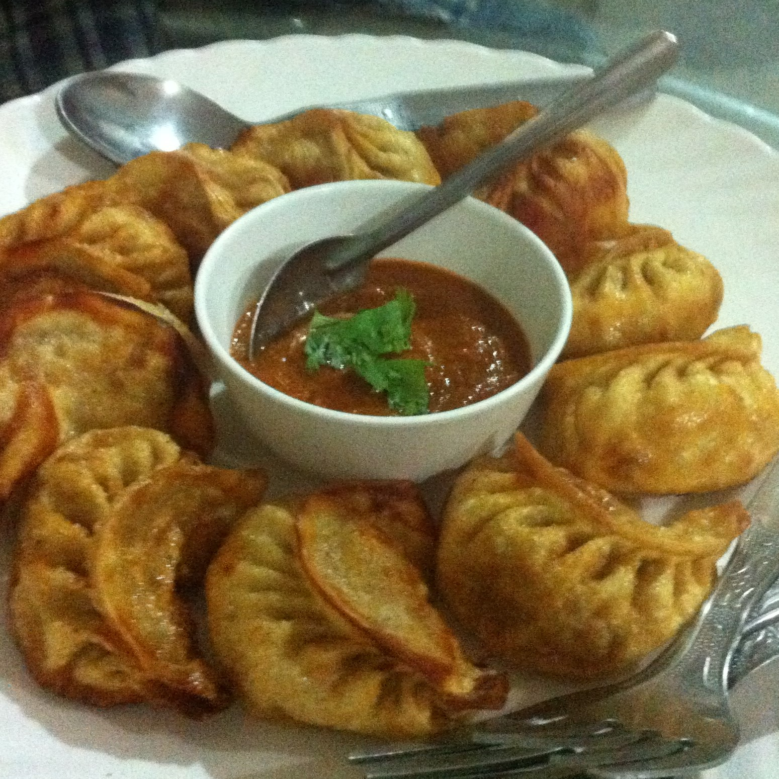 Paneer Fried Momos
