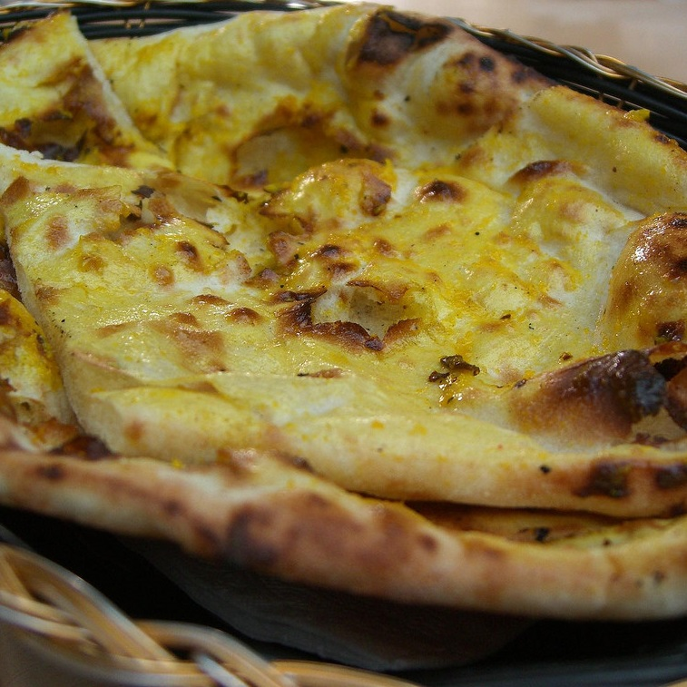 Cheese Garlic Naan