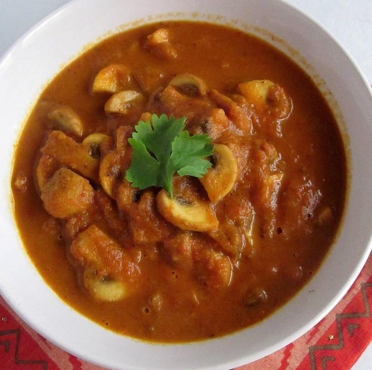 Mushroom Kadhai