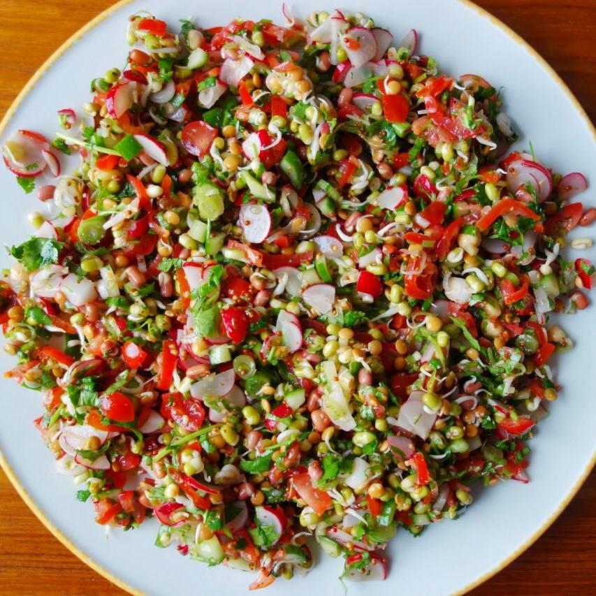 Cream Cucumber Salad