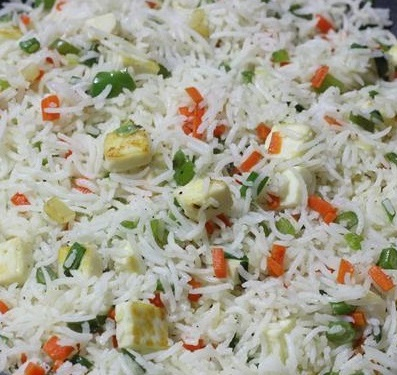 Cheese Fried Rice