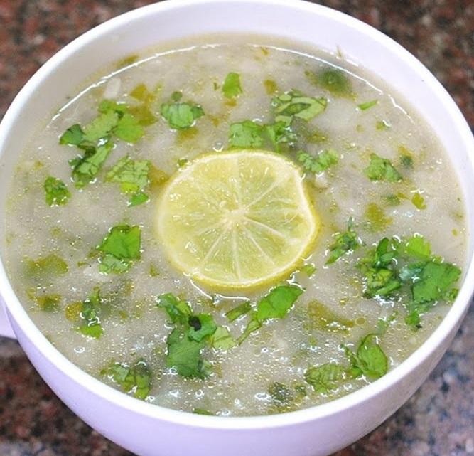 Lemon Coriender Soup