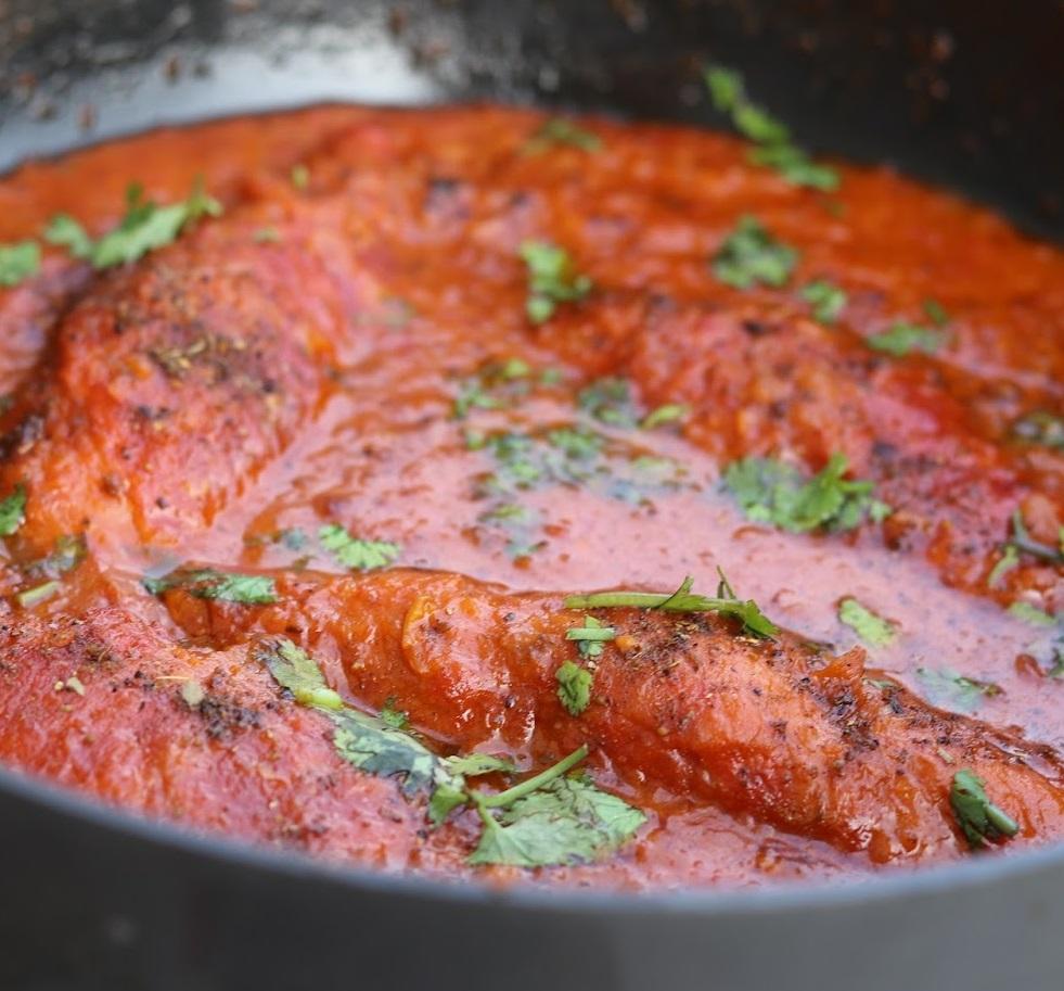 Soyabean Chap Curry