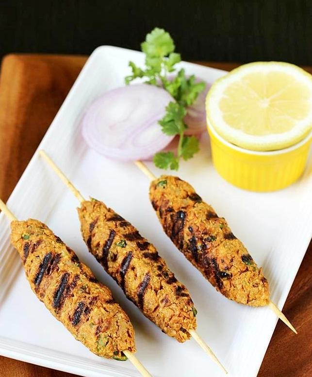 Veg. Seek Kabab