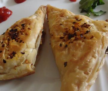 Cheese Chilli Patties