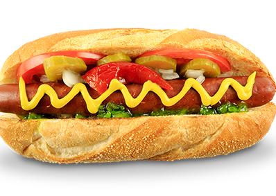 Veg. Hot Dog