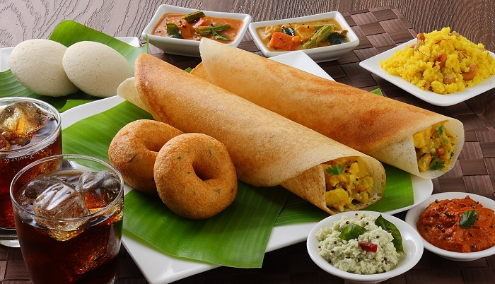5 South Indian Dishes